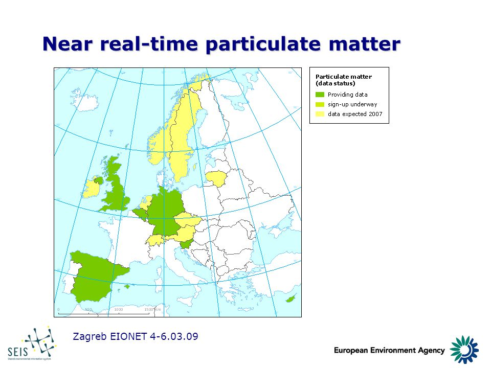 Zagreb EIONET 4-6.03.09 Near real-time particulate matter