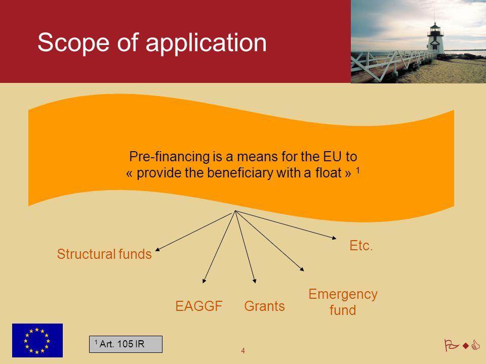 PwC Pre-financing 2. Key concepts