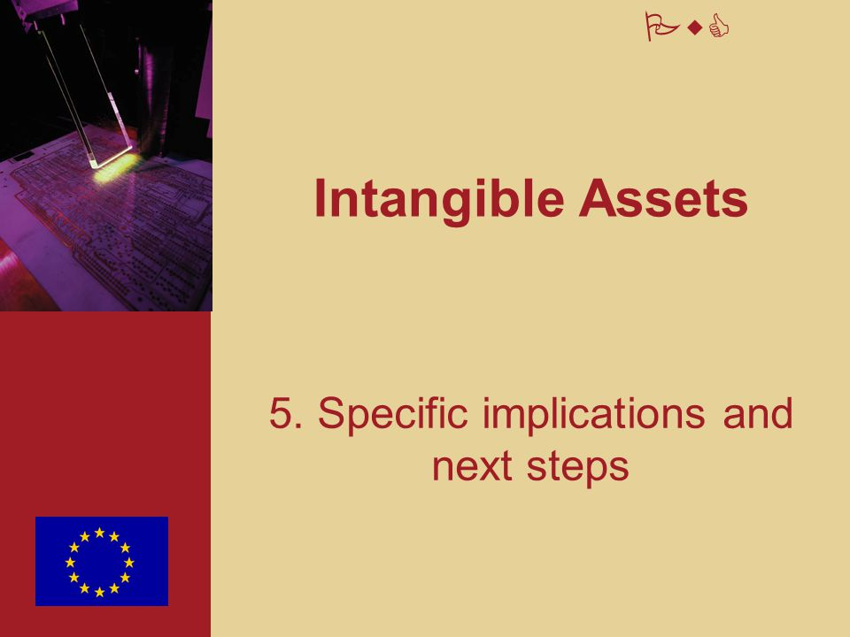 PwC Intangible Assets 5. Specific implications and next steps