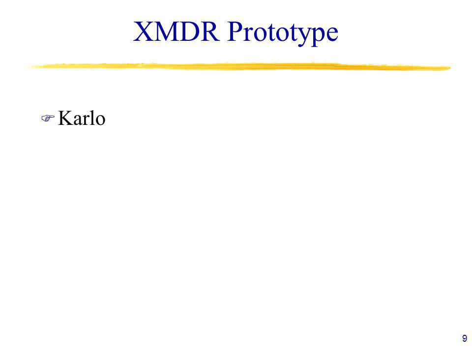 XMDR Prototype F Karlo 9