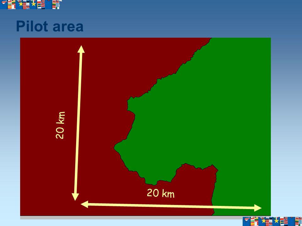 Pilot area 20 km