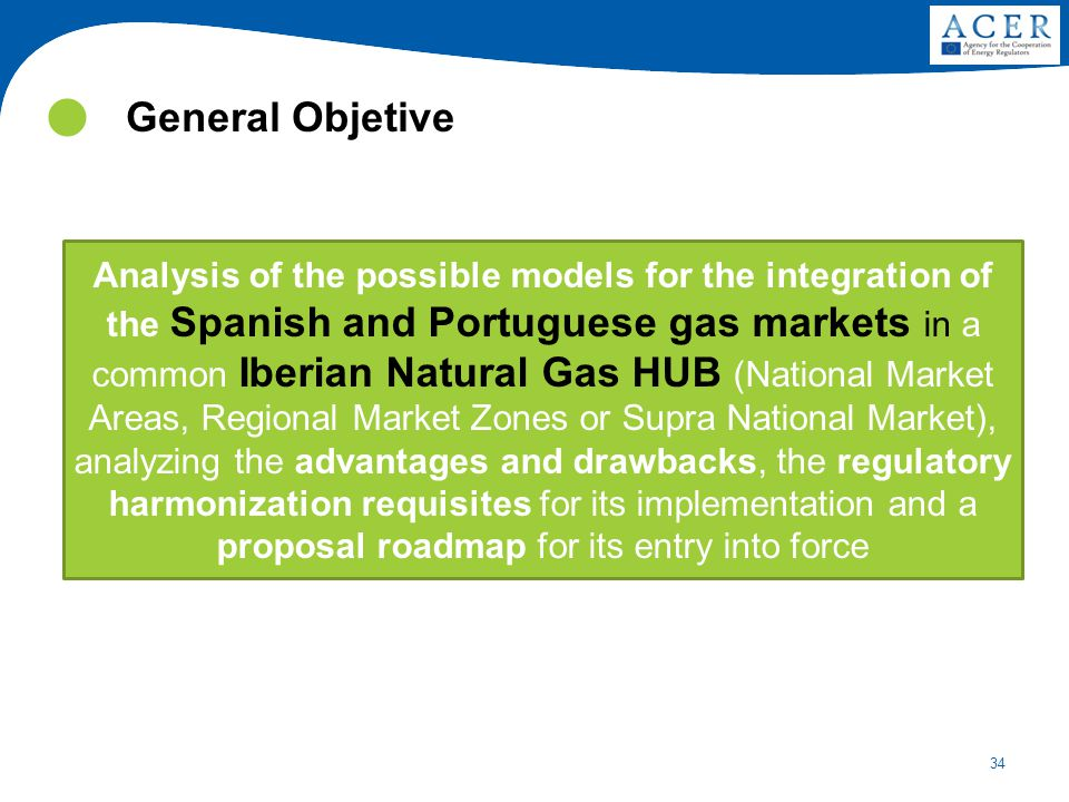 34 Analysis of the possible models for the integration of the Spanish and Portuguese gas markets in a common Iberian Natural Gas HUB (National Market