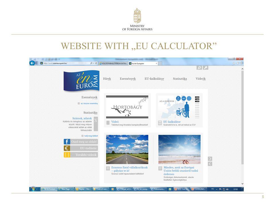 "8 WEBSITE WITH ""EU CALCULATOR"