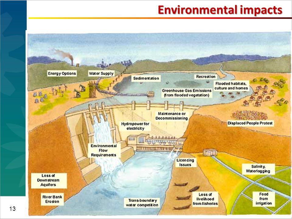 13 Environmental impacts