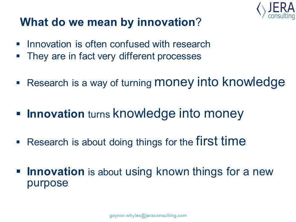 Innovation procurement v green procurement.