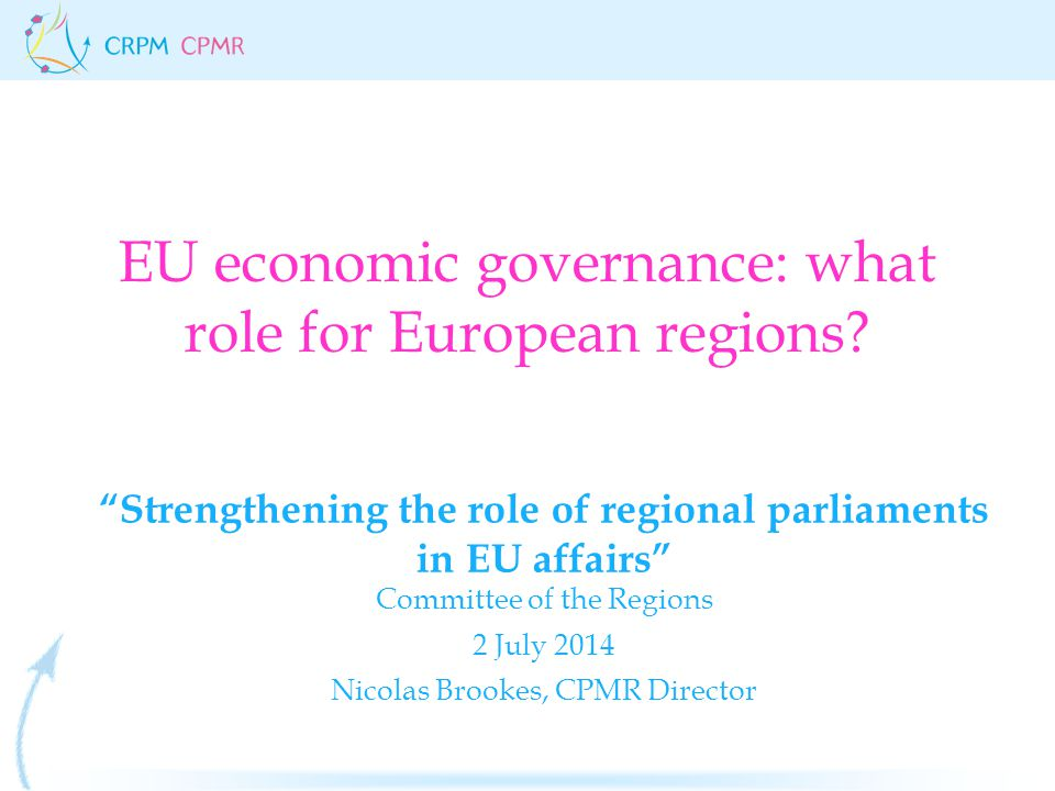 The Stability and Growth Pact STABILITY AND GROWTH PACT: - max 3% deficit - max 60% sovereign debt Coordination of economic and budgetary policies (European semester) Mechanisms of compliance (sanctions) Reinforced role of the Commission (oversees national budgets)