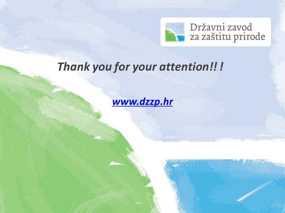 Thank you for your attention!! ! www.dzzp.hr