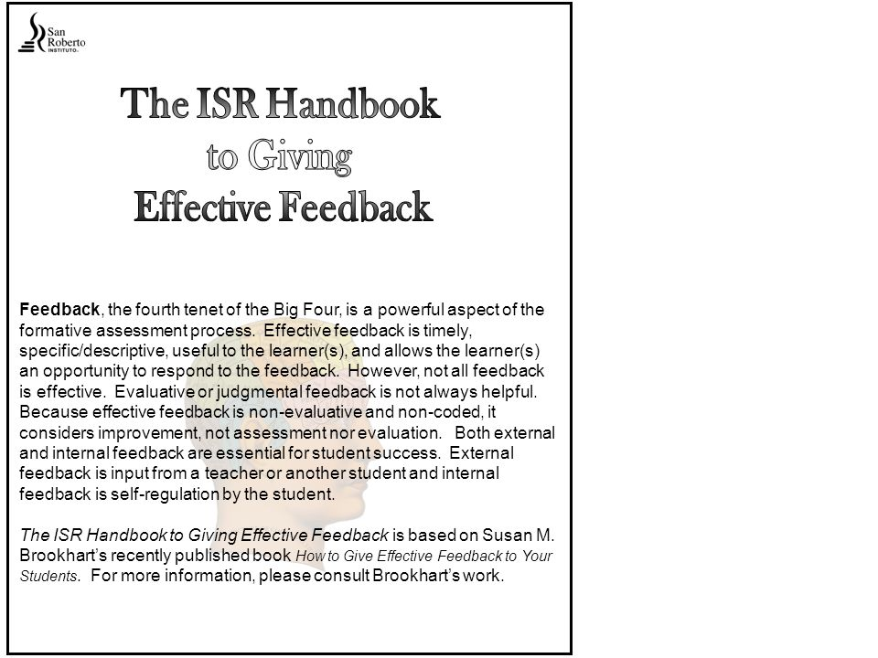 Feedback tone and word choice communicate respect for the learner.