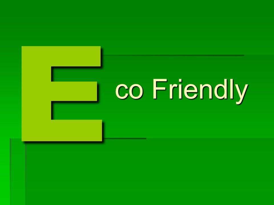 E co Friendly