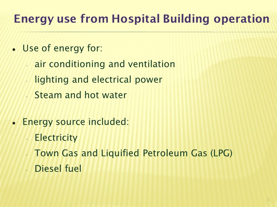 Summary of Implemented Measures 16 Boiler & Hot Water De-scaling device for boiler Heat pump application   Energy Demand Side Management - Hospital Engineering System