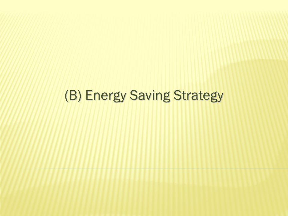 Energy Supply Side Management Alternative Choice of Energy Adopting renewable energy 19