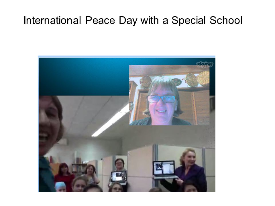 International Peace Day with a Special School