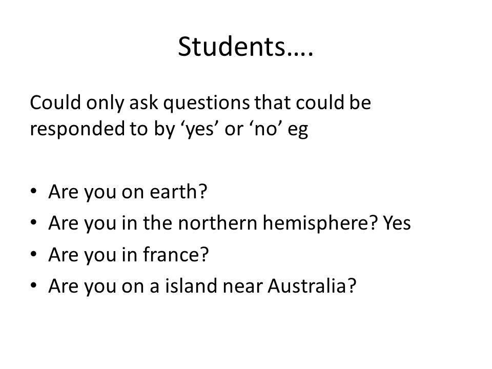 Students….