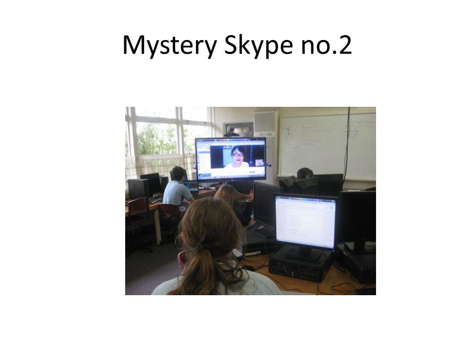 Mystery Skype no.2