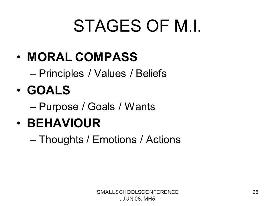 SMALLSCHOOLSCONFERENCE. JUN 08. MH5 27 Are There Universal Moral Principles.