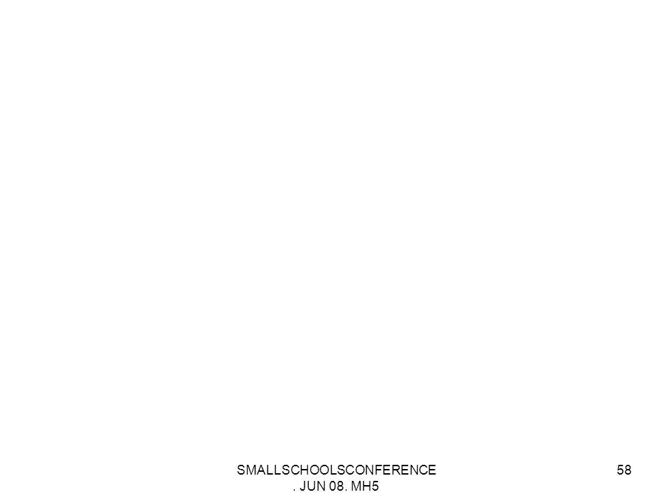 SMALLSCHOOLSCONFERENCE. JUN 08. MH5 57 Thank You