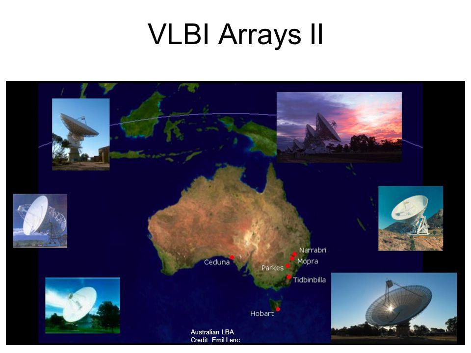 VLBI Arrays II Australian LBA. Credit: Emil Lenc