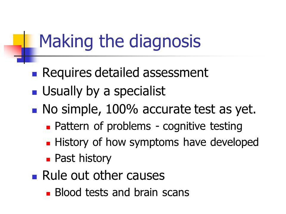 The Cognitive Dementia & Memory Service.