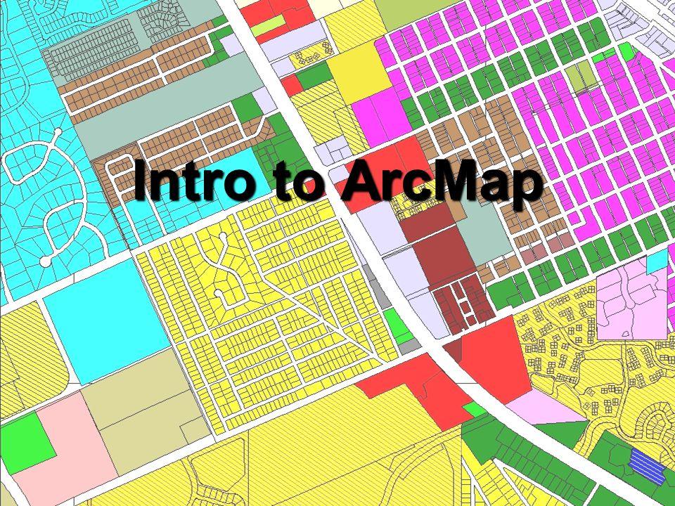 Intro to ArcMap