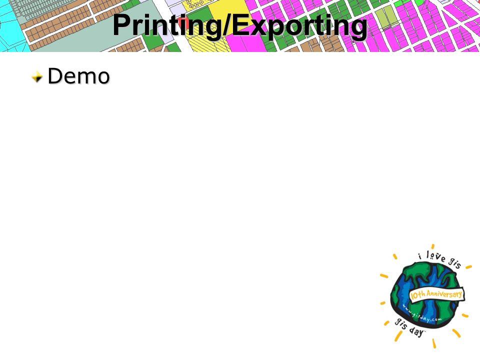 Printing/ExportingDemo