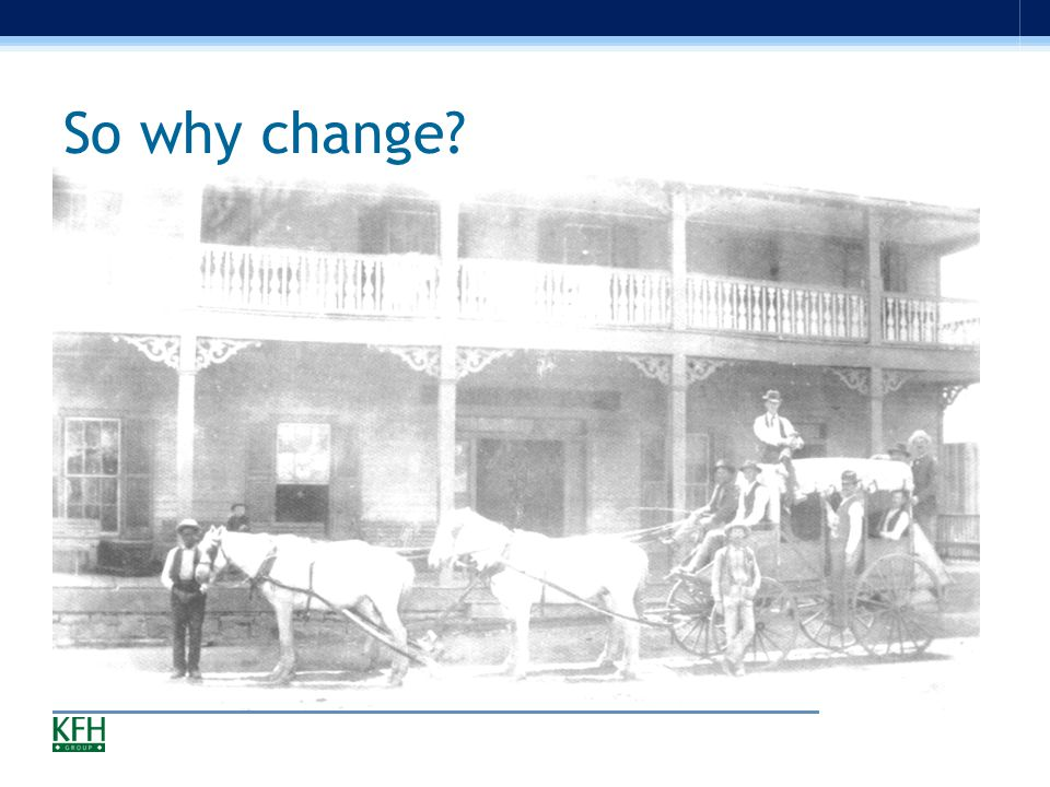So why change? Add horse drawn carriage picture