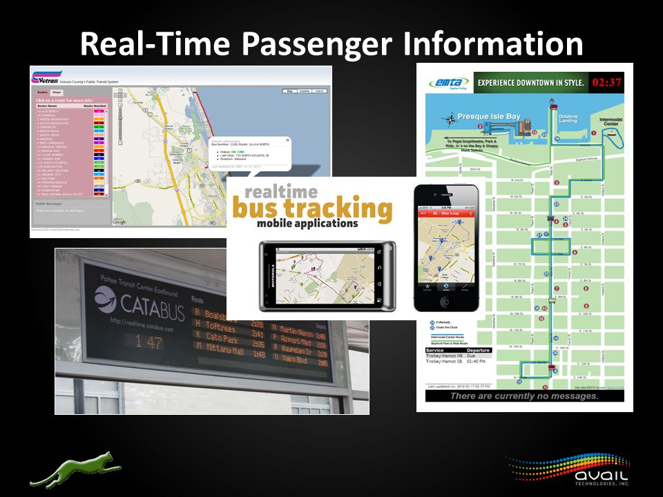 Real-Time Passenger Information