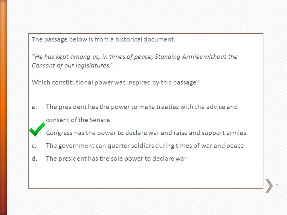 Which principle of the US Constitution applies to all citizens.