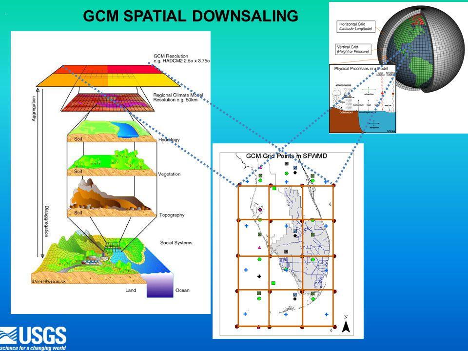 . GCM SPATIAL DOWNSALING