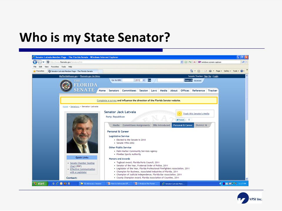 Who is my State Senator?