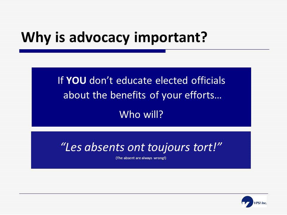 What is lobbying.
