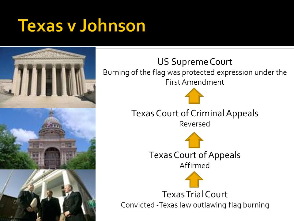  …Johnson's actions were expressive conduct and had a distinctively political nature  …the fact that an audience takes offense to certain ideas…does not justify prohibition of speech.  … if there is a bedrock principle underlying the First Amendment, it is that the Government may not prohibit the expression of an idea simply because society finds the idea itself offensive or disagreeable.