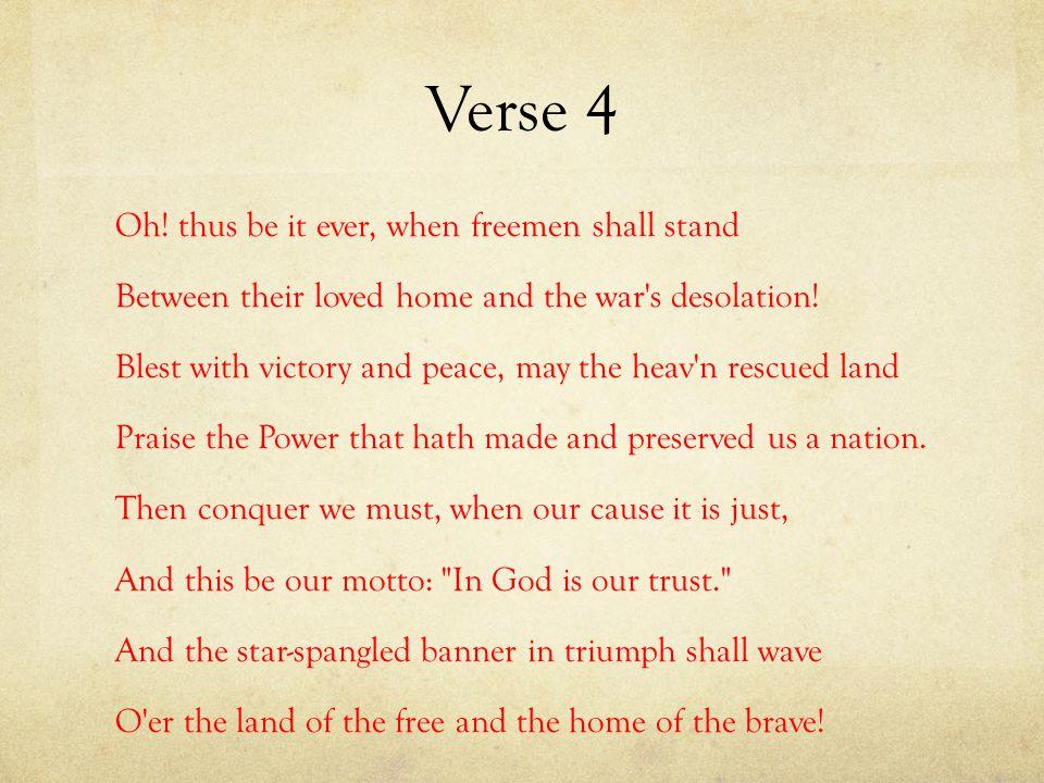 Verse 4 Oh.