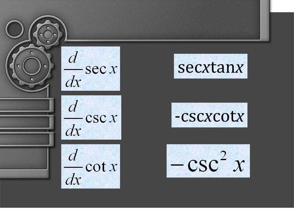 secxtanx -cscxcotx