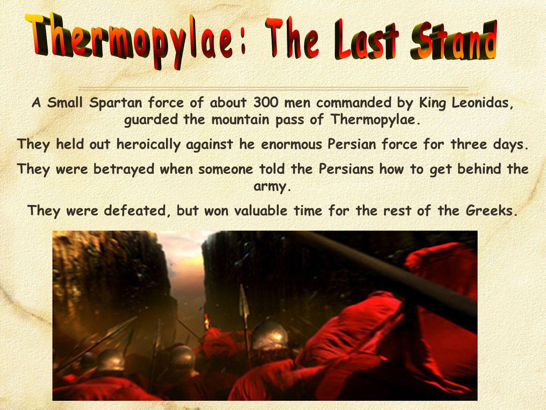 Who won at Salamis.