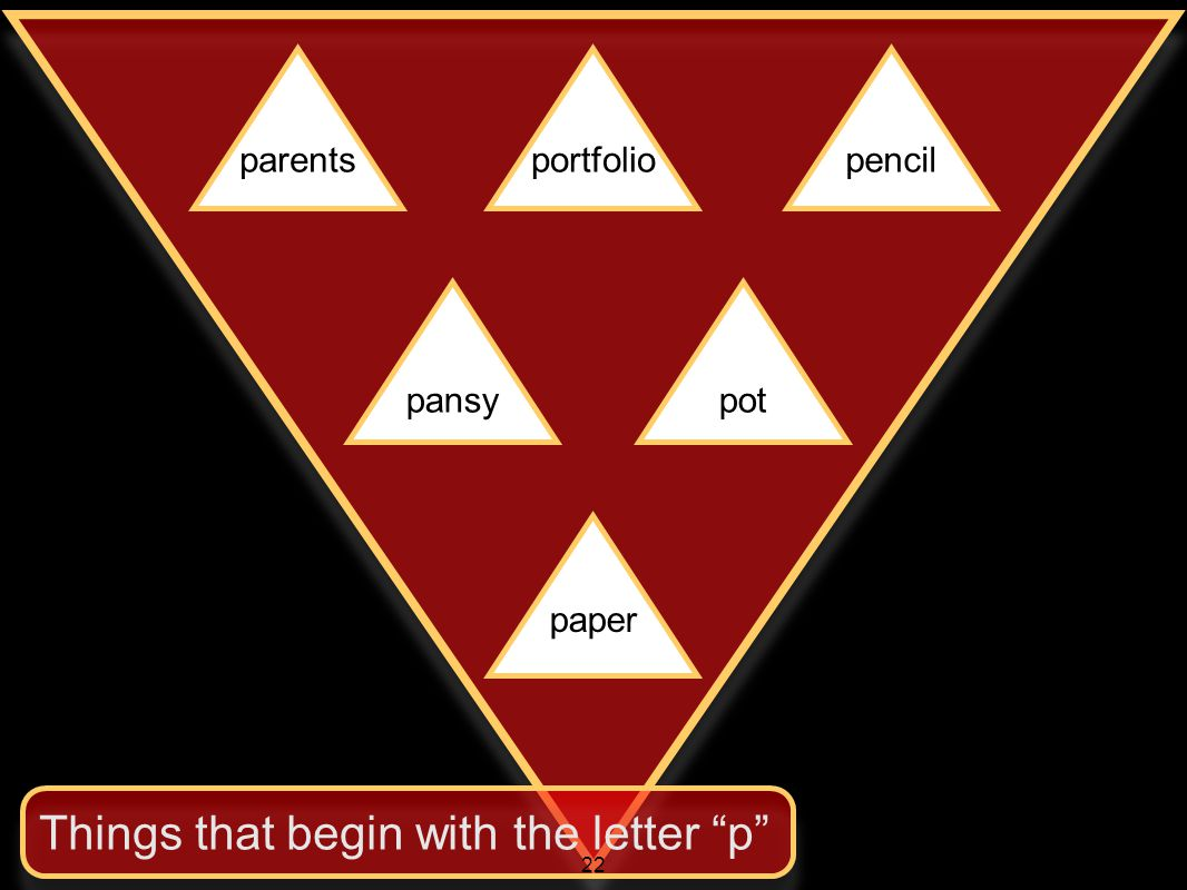 parentsportfoliopencil pansypot paper Things that begin with the letter p 22