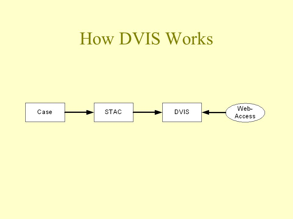 How DVIS Works