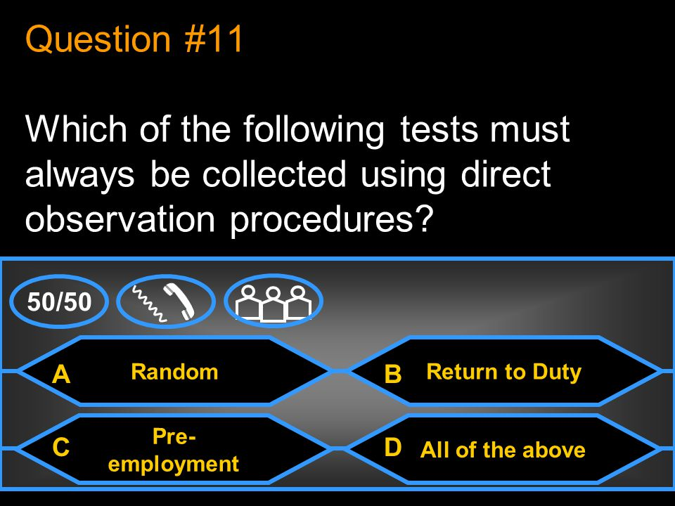 The MRO Question #10 After analyzing a DOT urine specimen, the laboratory can only release results to___.
