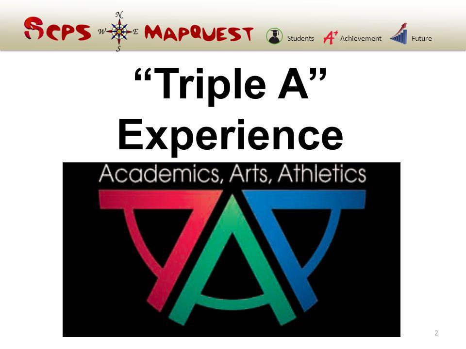 StudentsAchievementFuture Triple A Experience 2