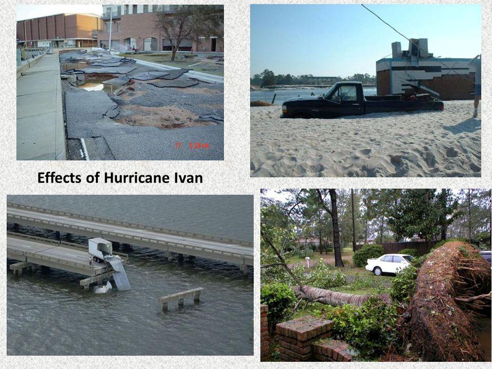 Effects of Hurricane Ivan