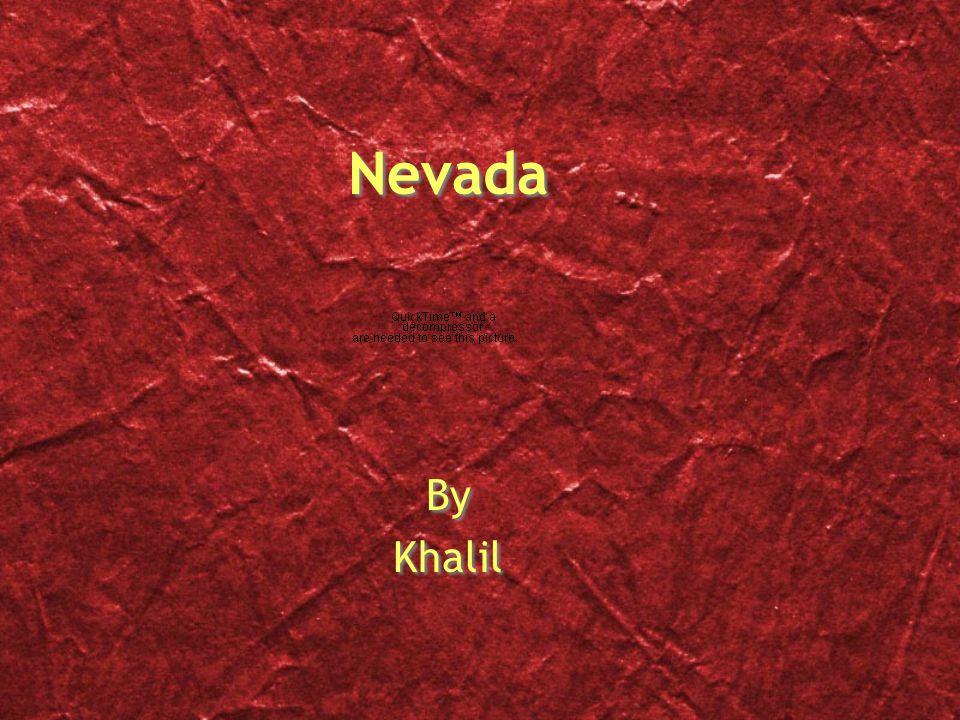 Nevada By Khalil By Khalil