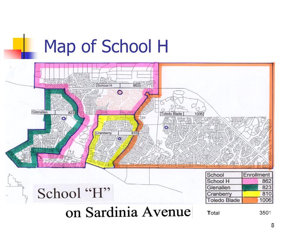 8 Map of School H