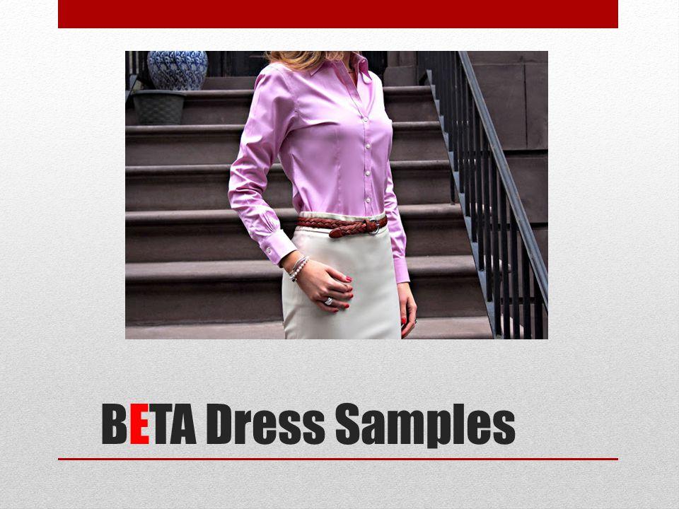 BETA Dress Samples