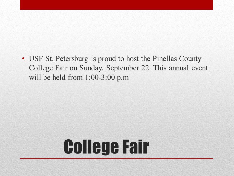 College Fair USF St.