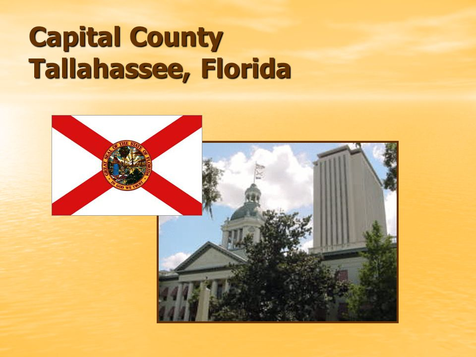 Capital County Tallahassee, Florida