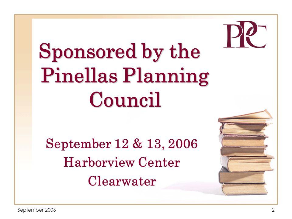 September 20063 PRESENTERS  David P.Healey  Larry S.