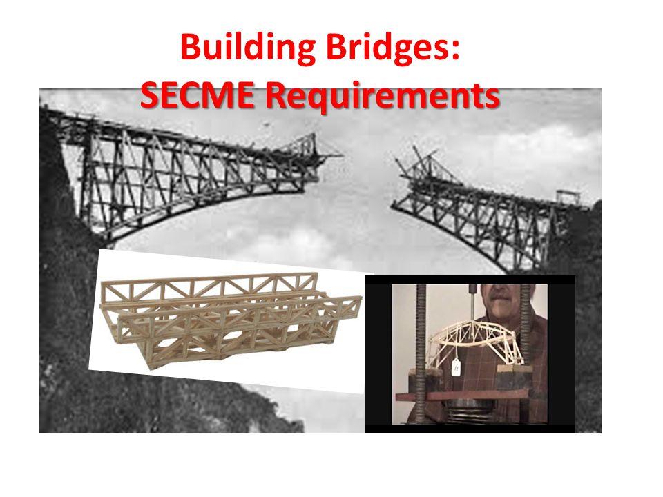 Building Bridges: Factors in Bridge Design - #1 What is the span of the bridge.