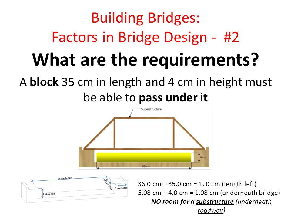 Building Bridges: Factors in Bridge Design - #3 What are the superstructure requirements.