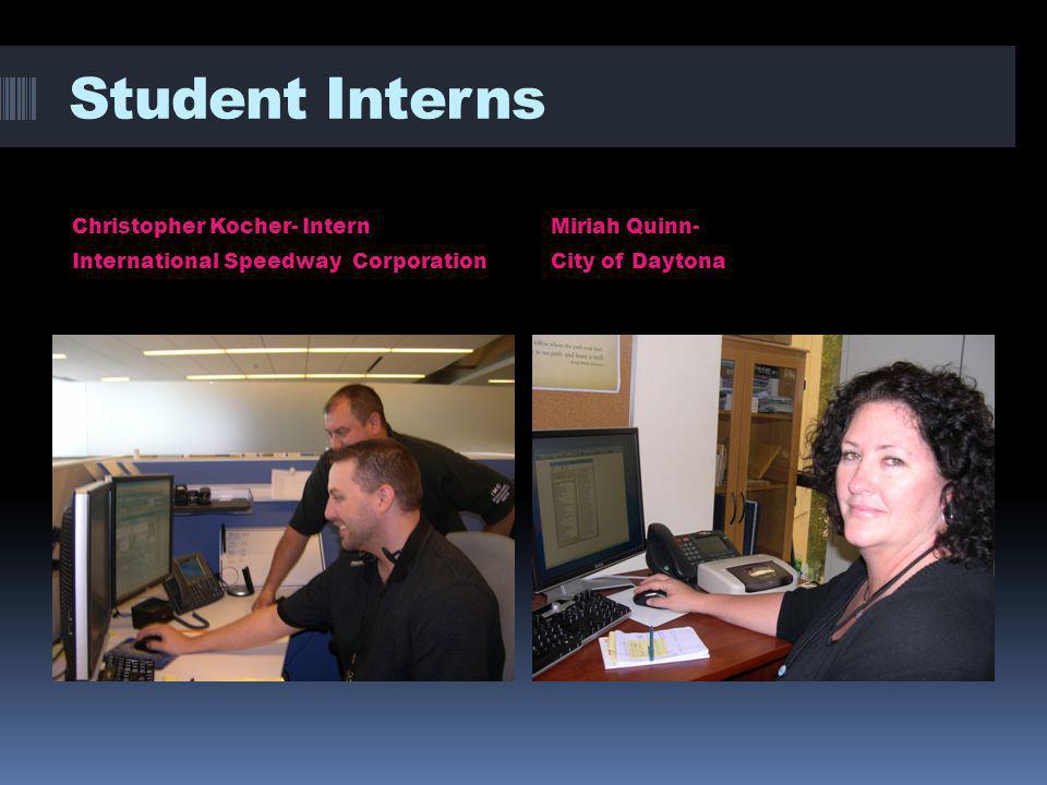 Michelle Benitez- Intern – City of Deltona IT Department