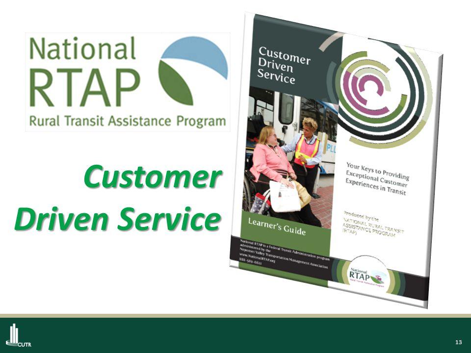 13 Customer Driven Service