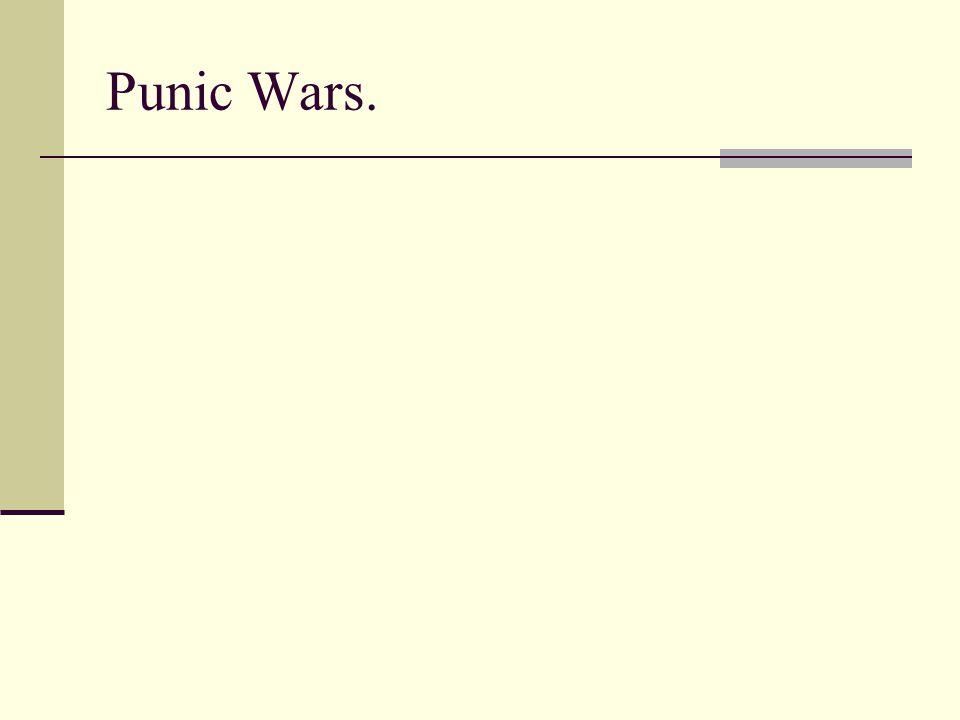 Punic Wars.